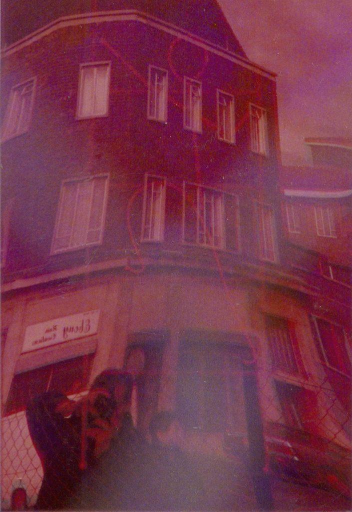 Sotiris Panousakis, Self-portrait, London, 1994